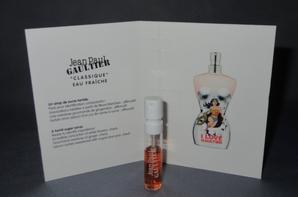✿ Gaultier Jean Paul 🌸  I LOVE GAULTIER 🌸  échantillon ✿