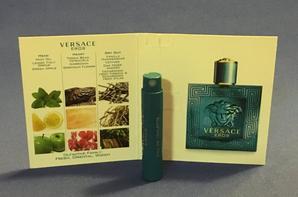 ✿ Versace Gianni   🌸  EROS POUR HOMME 🌸  les échantillons ✿