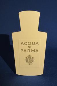 💌 Acqua di Parma  💌 cartes parfumées   💌