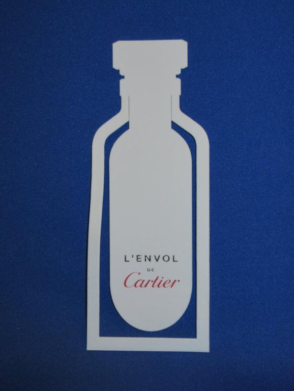 💌 Cartier  💌 cartes parfumées   💌