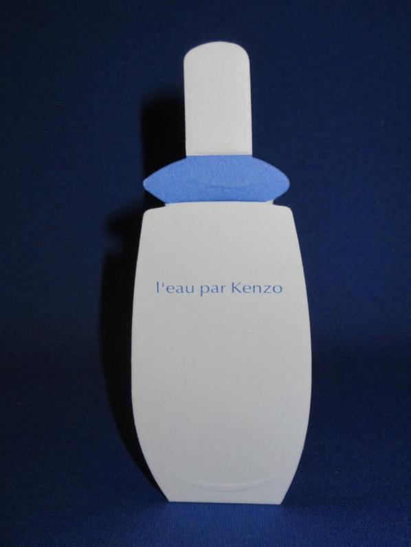 💌  Kenzo  💌  cartes parfumées  💌