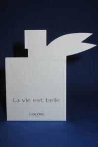 💌  Lancôme  💌 cartes parfumées 💌