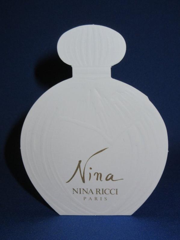 💌  Ricci Nina  💌  cartes parfumées  💌