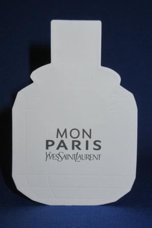 💌  St Laurent Yves  💌  carte parfumée  💌