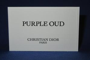 💌Dior Christian 💌  cartes parfumées 💌