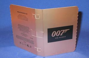 ✿  007 James Bond  🌸  007  🌸  échantillon  ✿