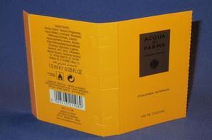 ✿ Acqua di Parma  🌸  les échantillons  ✿