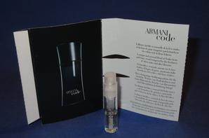 ✿ Armani Giorgio  🌸 les échantillons parfums Femme ✿