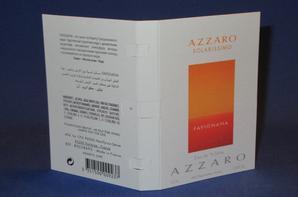 ✿ Azzaro Loris  🌸 les échantillons parfums pour Homme ✿