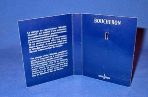 ✿  Boucheron  🌸  les échantillons ✿