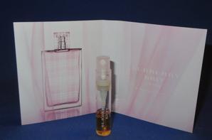 ✿ Burberry  🌸  les échantillons parfums pour Femme ✿