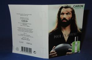 ✿ Caron 🌸  les échantillons 🌸  parfums pour Homme ✿