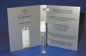 ✿ Cartier 🌸  les échantillons 🌸 parfums pour Femme ✿