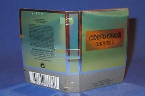 ✿ Cavalli Roberto 🌸  PARADISO 🌸 échantillon  ✿