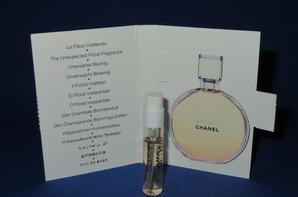 ✿ Chanel 🌸 CHANCE 🌸  les échantillons  ✿