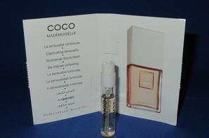 ✿ Chanel 🌸  Parfums pour Femme 🌸 les échantillons ✿