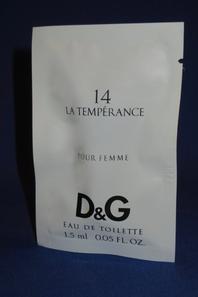 ✿ Dolce & Gabbana 🌸  les échantillons ✿