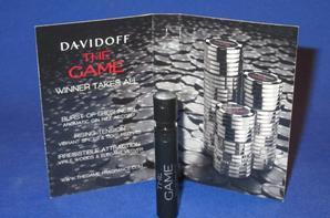 ✿ Davidoff 🌸  Parfums de Homme 🌸  les échantillons ✿