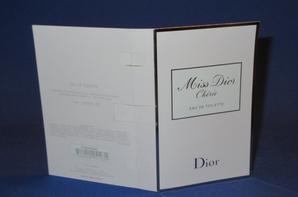 ✿  Dior Christian 🌸  MISS DIOR CHERIE EDT 🌸 les échantillons  ✿