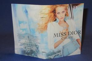 ✿  Dior Christian 🌸  MISS DIOR CHERIE EDP 🌸 les échantillons  ✿