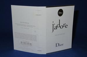 ✿  Dior Christian 🌸  J'ADORE EDP 🌸 les échantillons  ✿