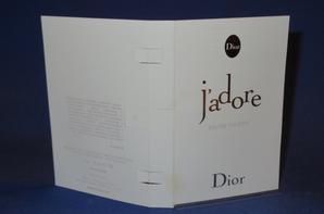 ✿  Dior Christian 🌸  J'ADORE EDT 🌸 les échantillons  ✿