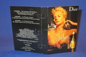 ✿  Dior Christian 🌸  J'ADORE 🌸 les échantillons  ✿