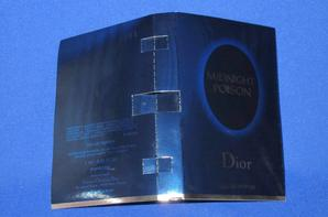 ✿  Dior Christian 🌸 MIDNIGHT POISON  🌸  échantillons ✿