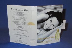 ✿  Dior Christian 🌸  EAU DE DOLCE VITA 🌸 les échantillons  ✿