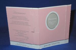 ✿ Dior Christian  🌸  DIORISSIMO  🌸 les échantillons ✿