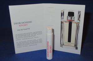 ✿ Dior Christian  🌸  DIOR SPORT  🌸 les échantillons ✿