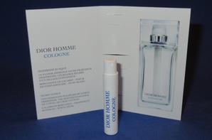 ✿ Dior Christian  🌸  DIOR HOMME COLOGNE  🌸 échantillon ✿