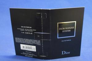 ✿ Dior Christian  🌸  DIOR HOMME INTENSE  🌸 échantillon ✿