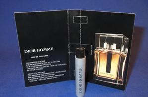 ✿ Dior Christian  🌸  DIOR HOMME  🌸 les échantillons ✿
