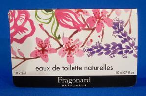 ✿ Fragonard 🌸 les échantillons  ✿