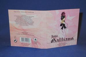 ✿ Galliano John 🌸  Parfums pour Femme 🌸  les échantillons  ✿