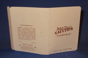 ✿ Gaultier Jean Paul 🌸  CLASSIQUE  🌸  échantillons  ✿