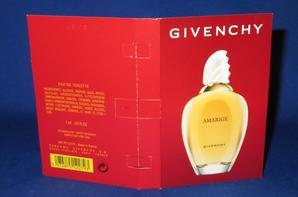 ✿ Givenchy 🌸   AMARIGE  🌸 échantillon ✿