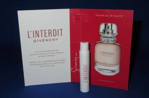 ✿ Givenchy 🌸  L'INTERDIT  🌸 échantillon ✿