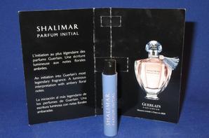 ✿ Guerlain 🌸  SHALIMAR PARFUM INITIAL 🌸 les échantillons ✿
