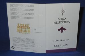 ✿ Guerlain 🌸  AQUA ALLEGORIA 🌸 les échantillons ✿