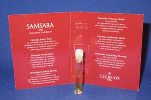 ✿ Guerlain 🌸  SAMSARA 🌸  échantillon ✿