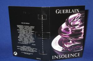 ✿ Guerlain 🌸  INSOLENCE 🌸 les échantillons ✿