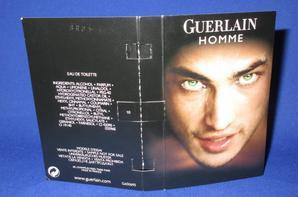 ✿ Guerlain 🌸  HOMME 🌸 les échantillons ✿