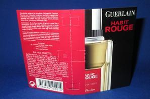 ✿ Guerlain 🌸  HABIT ROUGE 🌸 les échantillons ✿