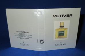 ✿ Guerlain 🌸  VETIVER 🌸 les échantillons ✿