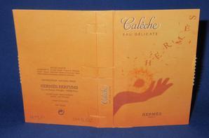 Hermès 🌸  CALECHE 🌸 les échantillons ✿