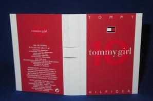 ✿ Hilfiger Tommy 🌸  TOMMY GIRL 10 🌸 échantillon ✿