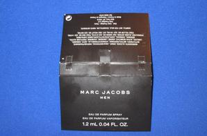 ✿ Jacobs Marc 🌸 MEN 🌸  échantillon ✿