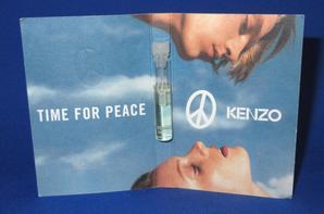 ✿ Kenzo 🌸  TIME FOR PEACE 🌸  échantillon ✿